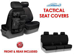 coverking ballistic tactical custom fit seat covers for jeep liberty full set