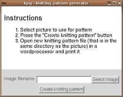 Knitting Chart Maker Kpg Knitting Pattern Generator
