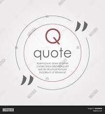 Citation Text Box Vector Photo Free Trial Bigstock