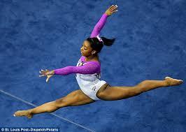 floor gymnastics moves. Legend: Team USA Gymnast Simone Biles, 19, Performed A Mind-boggling Floor Gymnastics Moves