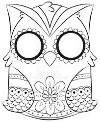 Small Picture Coloring Pages Cute Owl Coloring Page From Owls Category Select