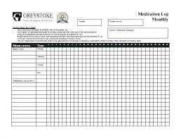 Daily Medication Checklist Template Medicine Related Post