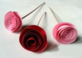 Rose Flower With Paper Fabulous Easy Rolled Paper Roses