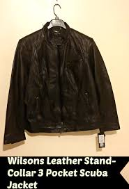 i had the wonderful opportunity to review wilsons leather stand collar 3 pocket scuba jacket