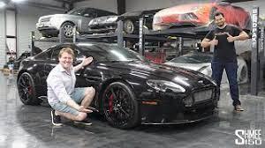 I Delivered Tavarish S New Aston Martin V12 Vantage S Youtube