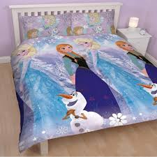 disney frozen crystal double duvet cover rotary only 11 99 at bargainmax