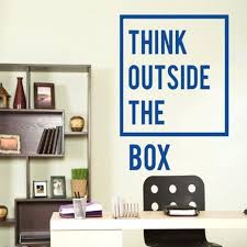 inspiring office decor. Motivational Office Decor New Style Inspirational Think Outside The Box Quotes Wall Decal Art Home Inspiring E