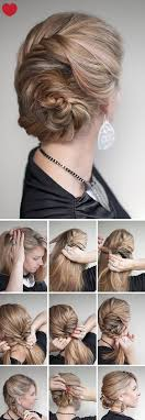 cute hairstyle tutorial braids updos for women