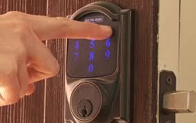 touchscreen deadbolt lock