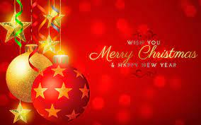 Merry Christmas Wallpapers Red Free ...