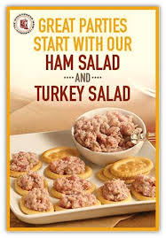try our delicious honeybaked ham or turkey salad today honey baked ham salad recipe