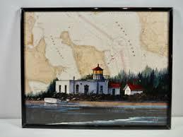 Betty Vestuto Pt No Pt Lighthouse Framed Art Nautical