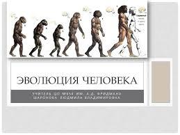 Урок биологии по теме Эволюция человека й класс Презентация к уроку