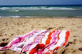 beach towel on beach. Brilliant Towel Intended Beach Towel On N