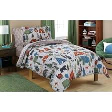 marvelous bedding in a bag mainstays kids camping bed in a bag bedding set twin size