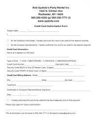 Credit Card Release Form Credit Check Release Form Rent Jpg Online Rental Application Just A