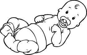 Small Picture Babies Simple Baby Boy Coloring Pages Coloring Page and Coloring