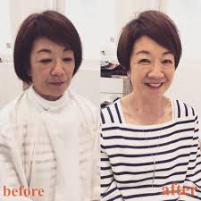 髪のお悩み 前髪が伸びない40代50代いくつになってもショートは