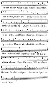 exultet sheet music exultet iam angelica