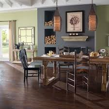 Pergo Flooring In Kitchen Pergo Xp Coffee Handscraped Hickory 10 Mm Thick X 5 1 4 In Wide X