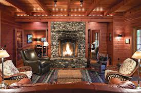 ... cabin's living room. Tom Wallace  Troy Thies