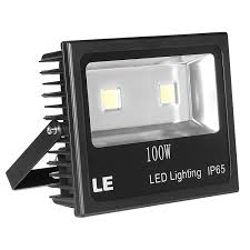 Brightest Outdoor Security Lights Le 100w Super Bright Outdoor Led Flood Lights 250w Hps Bulb Equivalent Waterp