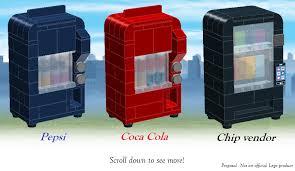 Lego Soda Vending Machine Beauteous LEGO IDEAS Product Ideas Vending Machines