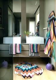 missoni bath mats mat bathroom a rugs previous home round rug gracious ideas with giacomo missoni bath mats