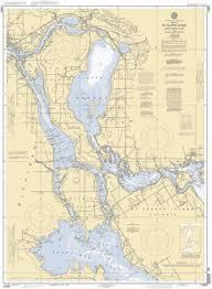 St Marys River Munuscong Lake To Sault Ste Marie Nautical