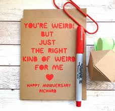 Slumbermonkey Design On Twitter Anniversary Card Weird Quote You