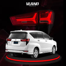 <b>Car Accessories</b> for innova 2016-up led <b>tail lamp</b> new <b>style tail light</b> ...