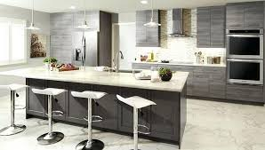 One Wall Kitchen Designs With An Island Interior Custom Ideas