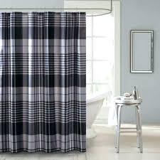plaid shower curtains tartan curtain images in decor blue red white and p plaid shower curtain