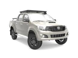 Toyota Hilux (2005-2015) Slimline II Roof Rack Kit - by Front ...