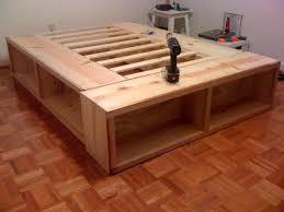 queen platform bed plans. Contemporary Queen Stylish Queen Platform Bed Plans In B
