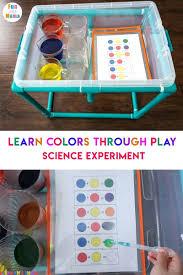 Colour Mixing Chart Pdf Colors Chart For Preschoolers How Can Preschoolers Mix Red