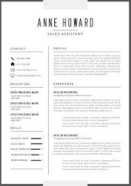 Classic Resume Template Mesmerizing Modern Business Resume Templates Template Plus Famous Picture