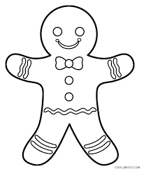 Gingerbread Man Characters Printables Gingerbread Man Story Coloring