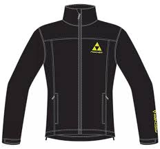 ГОНОЧНАЯ <b>КУРТКА</b> (Виндстоппер) FISCHER <b>RACE Soft Shell</b> Black