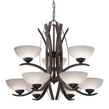 astounding 9 light bronze chandelier lighting allen roth mediterranean candle chandelier