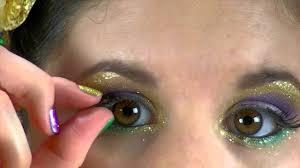 festive mardi gras parade makeup