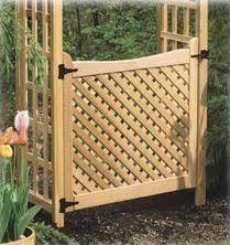 Small Picture Garden Arbor Gate 820 3077 1