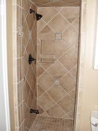 luxurious brown ing with wall decor small shower stalls showers stalls also small bathrooms stand up