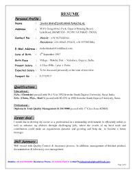 Profile Sample Resume Professional Profile Resume Examples New