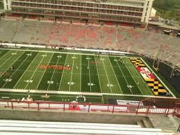 Umd Football Seating Chart Maryland Stadium Section 307 Home Of Maryland Terrapins