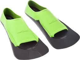 <b>Ласты</b> детские <b>Mad Wave Fins</b> Training II Rubber, цвет: зеленый ...