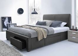 King Size Platform Storage Bed Ideas And Fascinating Queen With