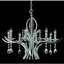 cf911231 8 4 ch turin 12 light chrome crystal chandelier