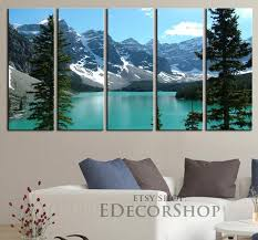 excellent lake wall art home design ideas extra large canvas print the rockies moraine framed 5 house district tahoe rules superior michigan