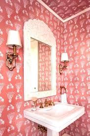 pink bath decor flamingo bathroom accessories large size shower curtain home set decorative towels